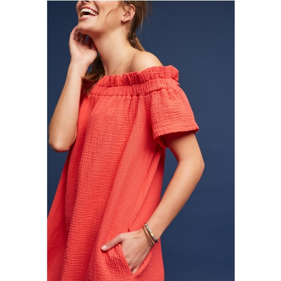 2328a3b1402 NWT ANTHROPOLOGIE Maella Textured Dress